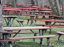 Picnic bench convention.