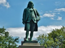 Benjamin Franklin, Chicago Riverfront