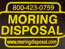 Too much Moring*? Dispose of it here!