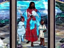 Stained Glass, Sweetland UMC, Sweetland, IA. Copyright Robert Hartwig.