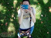 Sam en train de me photographier quand j'étais dans une arbre!