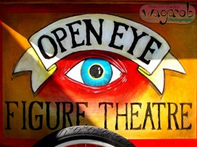 Open Eye Theatre. DIA's Inside|Out exhibit - Belle Isle, MI. Copyright Robert Hartwig.