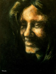 Self- portrait inspired by Rembrandt