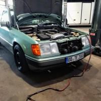Verdampfer Klimaanlage und Wärmetauscher erneuern - W124