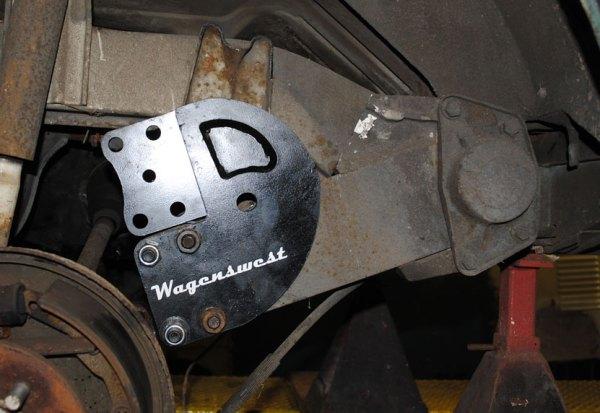 1968-79 4.5 inch rear drop plates.-488