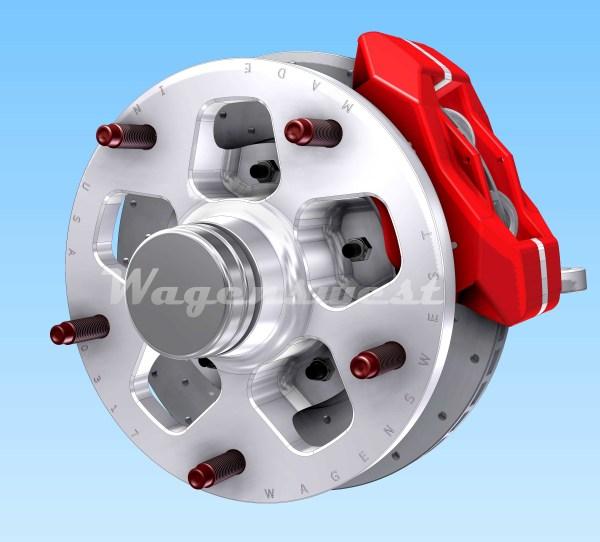really good wide five disc brake kit