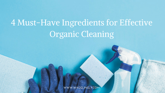 4 Must-Have Ingredients for Effective Organic Cleaning