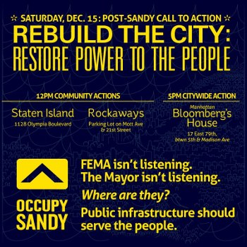 Occupy Sandy flyer for December 15 citywide day of action. (Occupy Sandy)