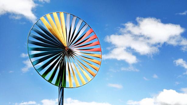 A German wind turbine. (Flickr/epSos .de)
