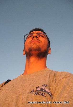 the first rays of sun hit dinesh wagle in kanyakumari