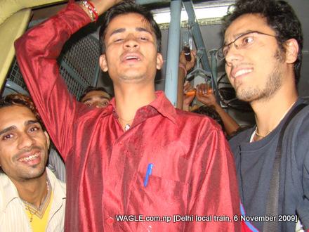 Delhi local train