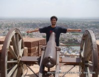 cannon at johdpur maherngarh fort