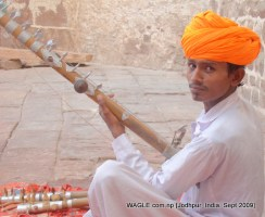 Mehrangarh Fort, instrumental seller