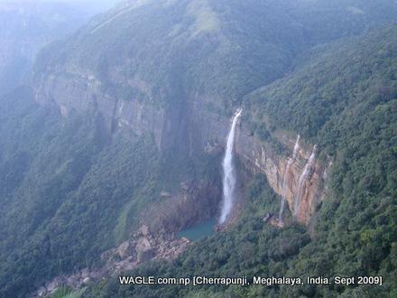 cherrapunji water falls