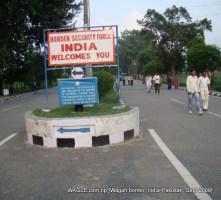 wagah border india pakistan