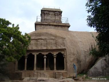 Mahishamardhini Cave mahabalipuram india stone carving monolith temples (18)