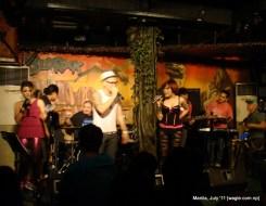 manila: live music. the band