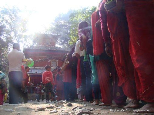 baglung kalika temple dashain festival (0)