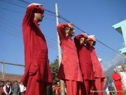 nepal army celebrates dashain festival in baglung (5)
