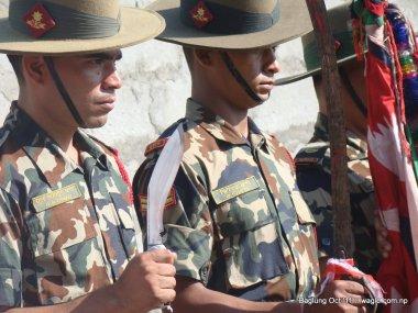 nepal army celebrates dashain festival in baglung (8)
