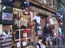 Clans of Scotland- On Way to Edinburgh Castle