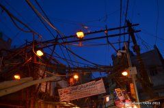 Street lights- Old Delhi