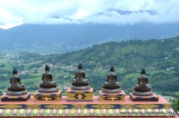 Buddhas keep their eyes over the city of Kathmandu