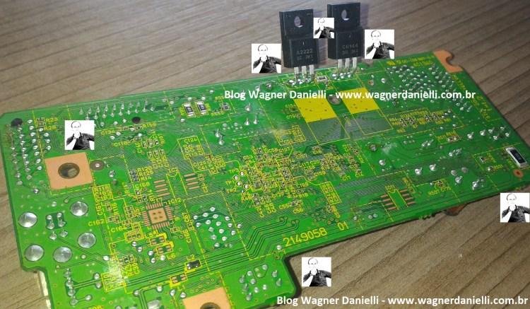 Placa Logica L355 e XP214 blog Wagner Danielli