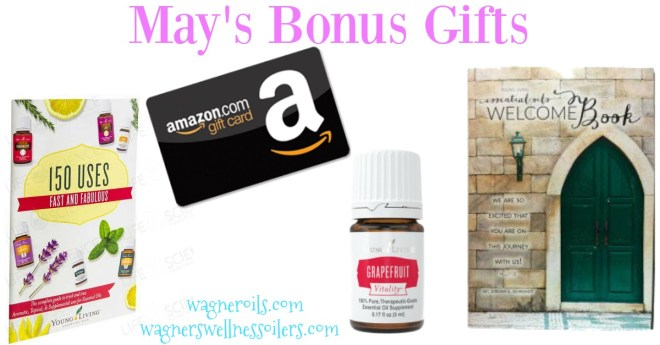 May's Bonus Gifts