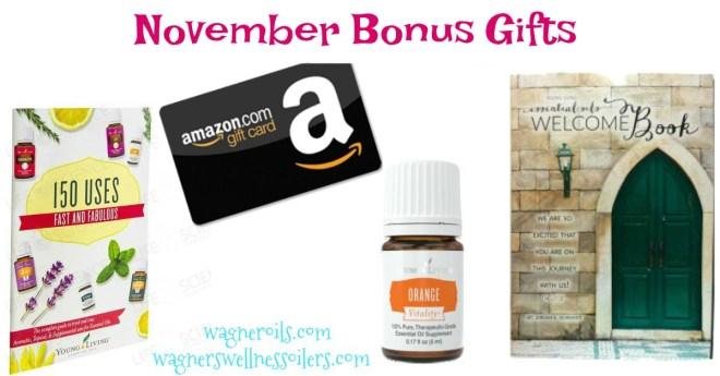 November Bonus Gifts