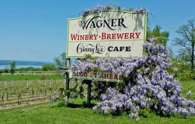 Wagner sign - 1000 feet ahead