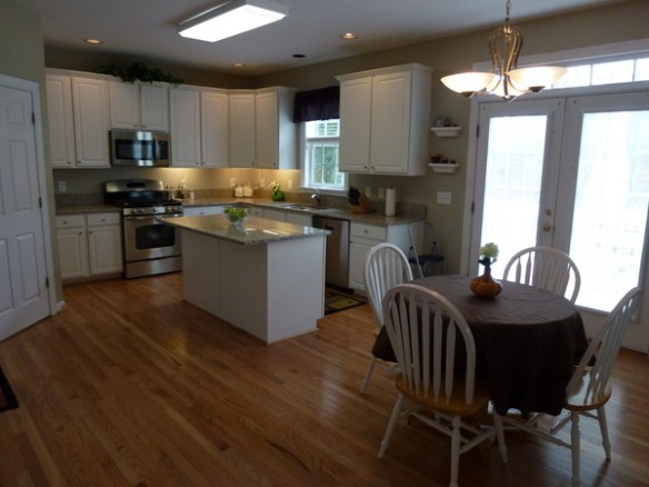 Our House in Apex, NC with a huge kitchen