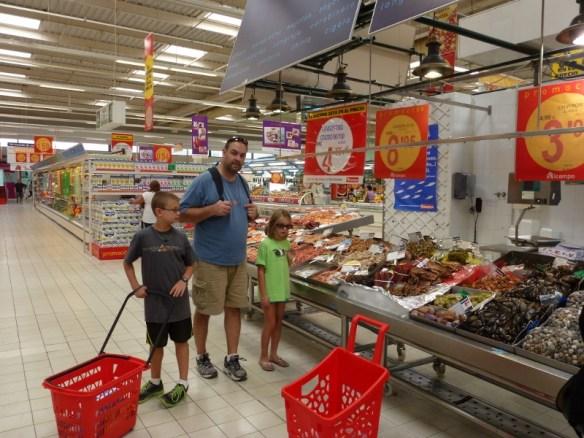 cost of living in spain groceries