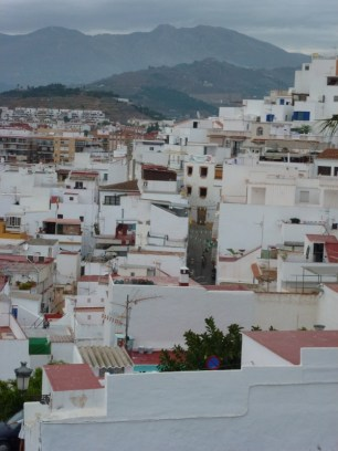San Miguel - above old town