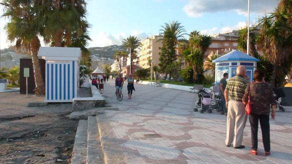 Evening Promenade Walk
