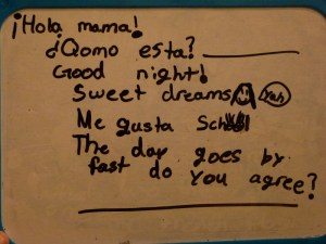 Note from Anya - 5th of October, 2012 (study Spanish)