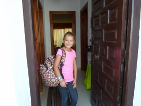 Anya ready for School