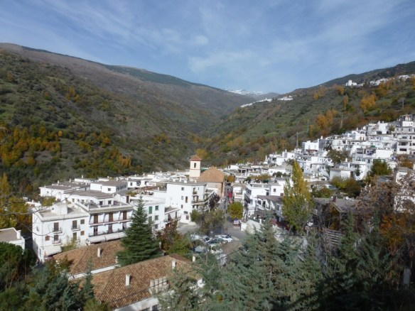 The Village of Pampaneira  Las Alpujarras Granada Spain