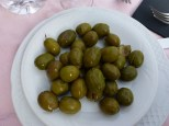 Local Olives for Tapas Pampaneira Las Alpujarras Granada Spain