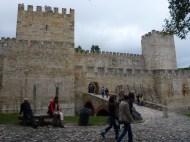 Castle in Lisbon Portugal