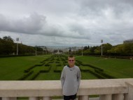 Eduardo VII Park in Lisbon Portugal