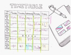 Weekly class agenda - Lars