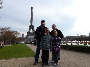 Wagoners Abroad saving money in Paris