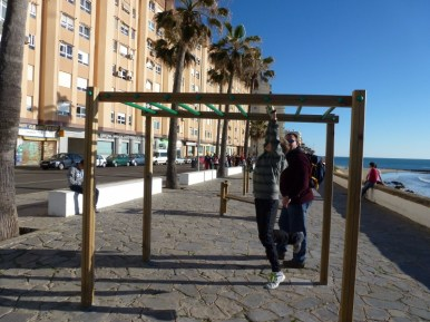 Parks and playgrounds are everywhere