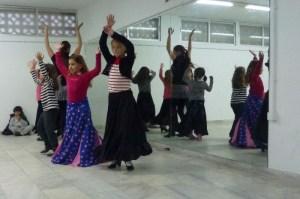 Anya's Flamenco Dancing Class