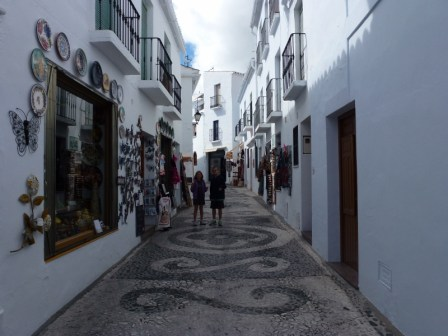 Frigiliana, Spain the streets have such intricate designs