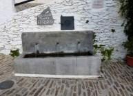 Water Fountain in The Village of Pampaneira. Los Alpujarras, Spain