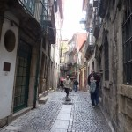 Along the streets of Porto Portugal
