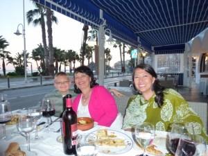 Dinner in Almunecar