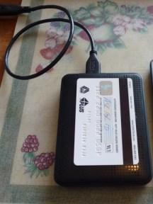 WD My Passport - Size compare (Travel hard drive)